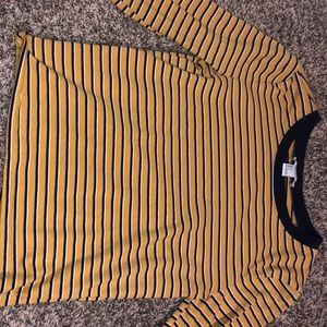 Never worn striped long sleeve